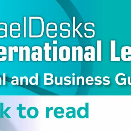 Israel Desks International Legal Guide 2017 – Chapter Review