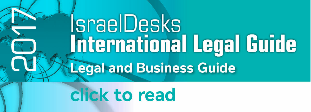 Israel Desks International Legal Guide 2017