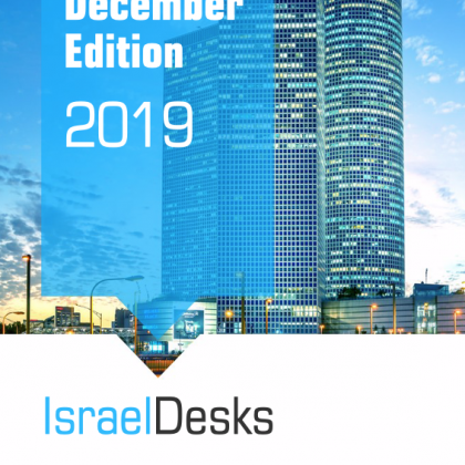 IsraelDesks Magazine – December 2019 Edition