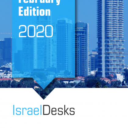 IsraelDesks Magazine February 2020 – USA, M&A and Cannabis