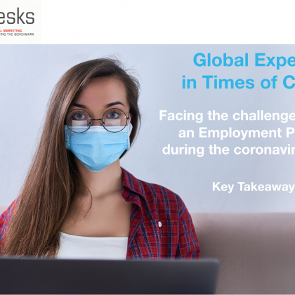 Facing the challenge of being an Employment Partner during the coronavirus crisis
