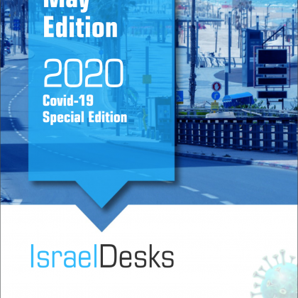 IsraelDesks Magazine May 2020 Covid-19 Special Edition
