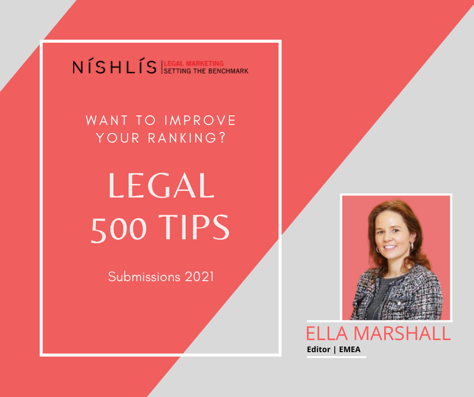 Legal 500 Insights and Tips from the Editor