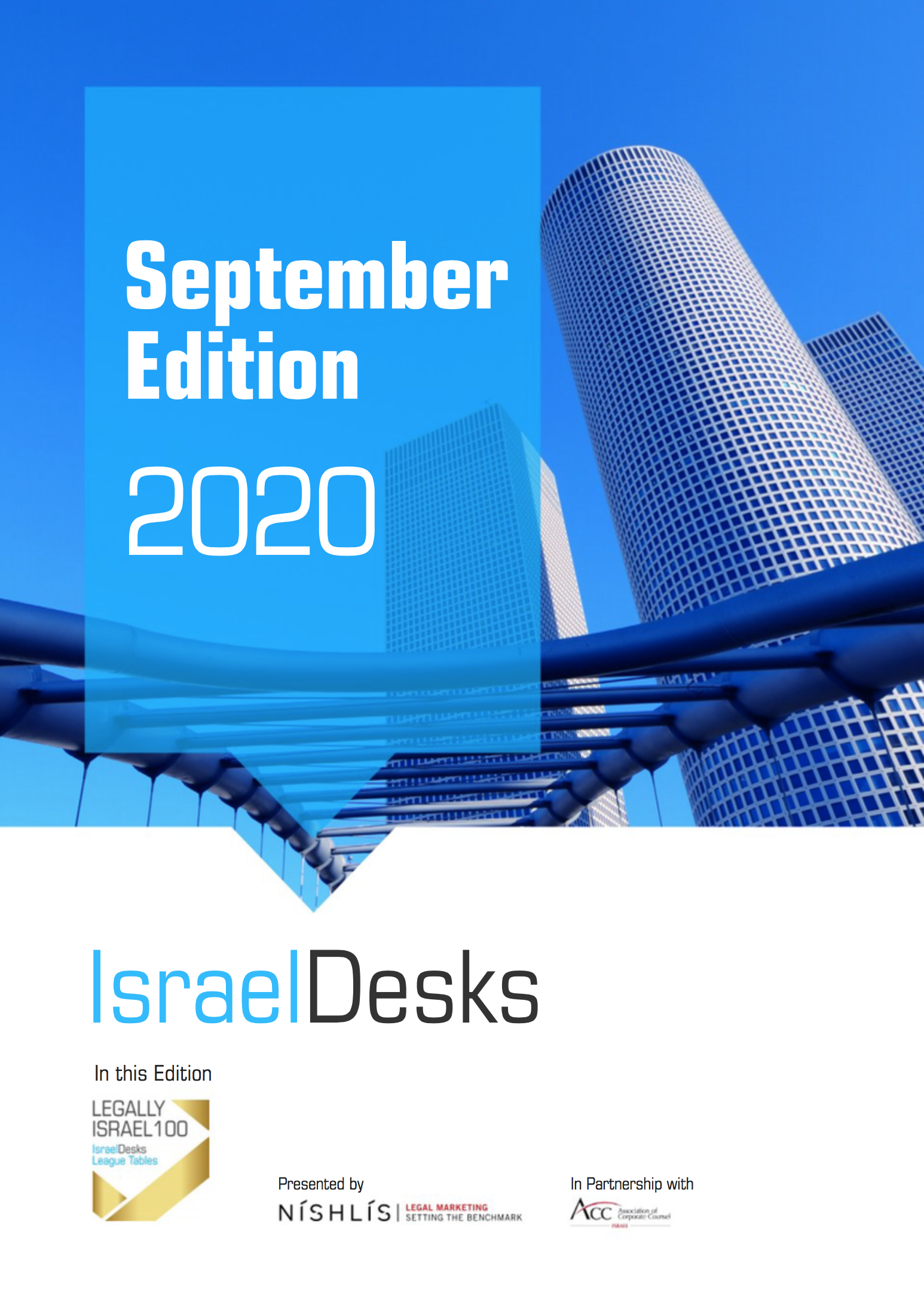 IsraelDesks Magazine September 2020 Legally Israel 100 Special Edition