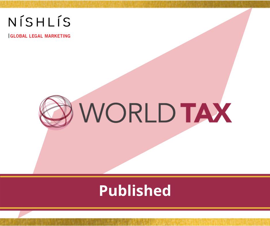 פרסום דירוג World Tax